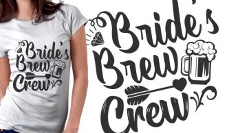 T-shirt Design 1622 T-shirt Designs and Templates bachelorette party