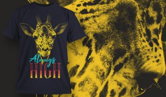 T-shirt design 1625 T-shirt Designs and Templates animal