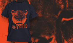 T-shirt design 1626 T-shirt designs and templates animal