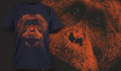 T-shirt design 1628 T-shirt designs and templates animal