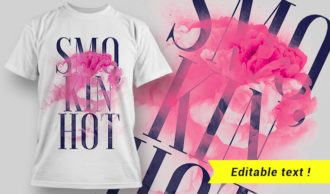 T-shirt design 1635 T-shirt Designs and Templates colorful