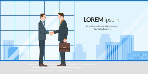 Partnership Vector Illustration parteneriat