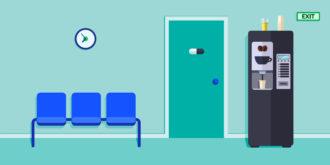 Waiting Room Vector Illustration Vector Illustrations vector