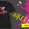Alcohol Design 1 – Drinks Well With Others T-shirt Designs and Templates vector