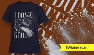 T-shirt design 1647 T-shirt Designs and Templates t-shirt
