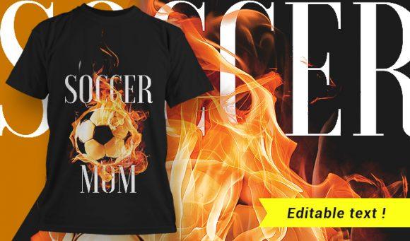T-shirt design 1658 T-shirt Designs and Templates fire