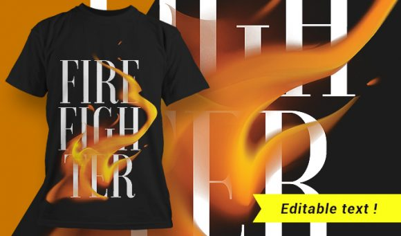 T-shirt design 1661 1