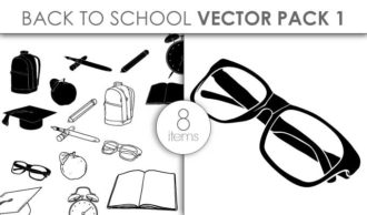 Vector Back To School Pack 1 Vector packs vector