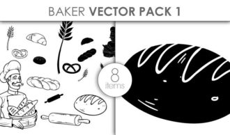 Vector Baker Pack 1 Vector packs vector
