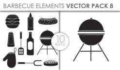 Vector Barbecue Pack 8for Vinyl Cutter Vector packs vector