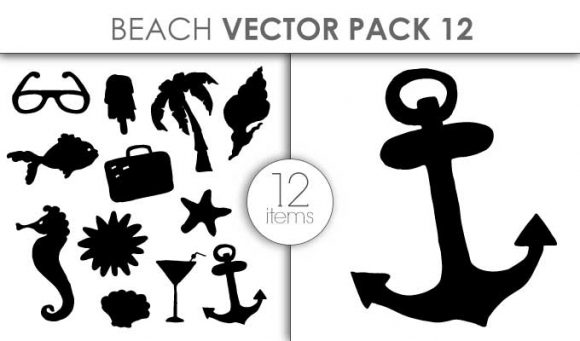 Vector Beach Pack 12 Vector packs vector