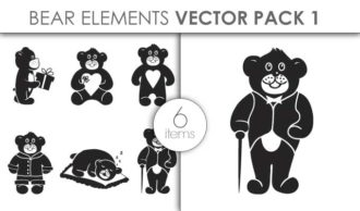 Vector Bears Pack 1for Vinyl Cutter Vector packs vector