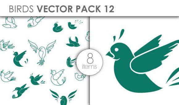 Vector Birds Pack 16for Vinyl Cutter Vector packs vector