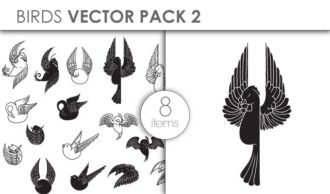Vector Birds Pack 2for Vinyl Cutter Vector packs vector