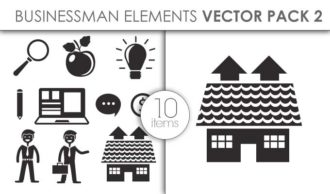 Vector Businessman Pack 2for Vinyl Cutter Vector packs vector