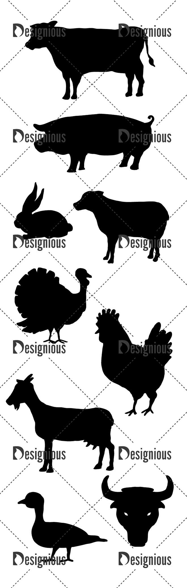 Vector Butchery Icons Pack 1 6