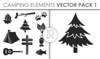 Vector Camping Pack 1for Vinyl Cutter Vector packs vector