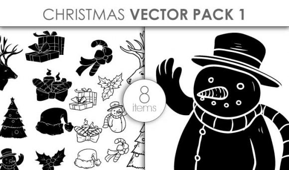Vector Christmas Pack 1 Vector packs vector