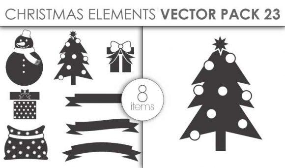 Vector Christmas Pack 23for Vinyl Cutter 5