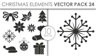 Vector Christmas Pack 24for Vinyl Cutter Vector packs vector