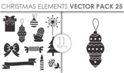 Vector Christmas Pack 25for Vinyl Cutter Vector packs vector