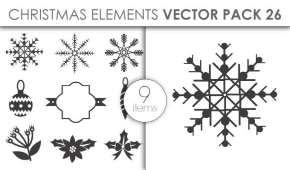 Vector Christmas Pack 26for Vinyl Cutter Vector packs vector