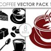Free Birds With Floral Vector Illustration designious vector coffee pack 1 small preview