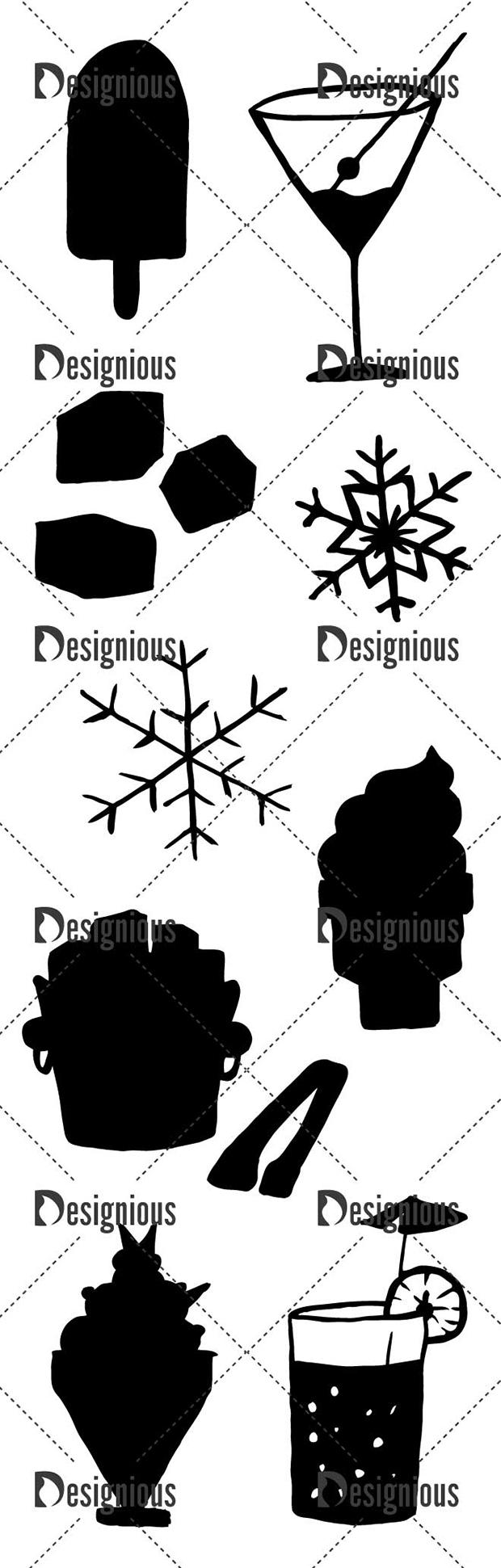 Vector Cold As Ice Pack 2 designious vector cold as ice pack 2 large preview