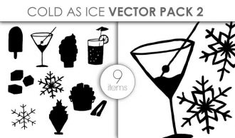 Vector Cold As Ice Pack 2 Vector packs vector