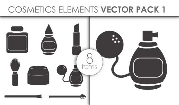 Vector Cosmetics Pack 1for Vinyl Cutter Vector packs vector