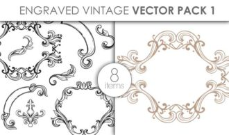 Vector Engraved Vintage Pack 1 Vector packs vector