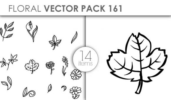 Vector Floral Pack 161for Vinyl Cutter designious vector floral pack 161 small preview