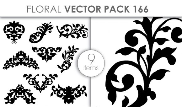 Vector Floral Pack 166 Vector packs vector