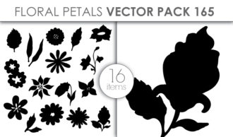 Vector Floral Petals Pack 165 Vector packs vector