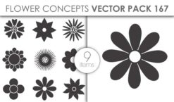 Vector Flower Pack 167for Vinyl Cutter Vector packs vector
