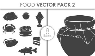 Vector Food Pack 2for Vinyl Cutter Vector packs vector