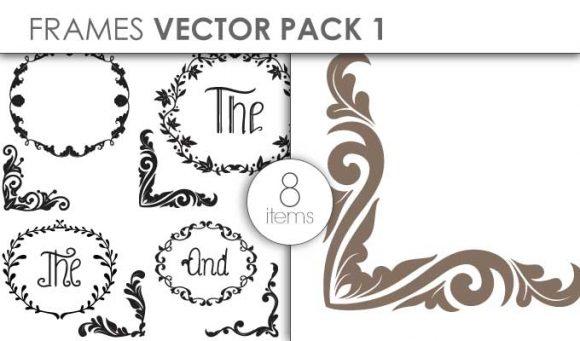 Vector Frames Pack 1 Vector packs vector