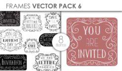 Free Vector Frames Pack 6 Freebies vector