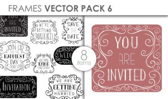 Free Vector Frames Pack 6 Freebies vector