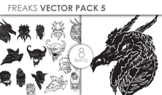 Vector Freaks Pack 5for Vinyl Cutter Vector packs vector