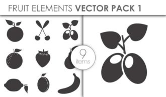 Vector Fruits Pack 1 Vector packs vector