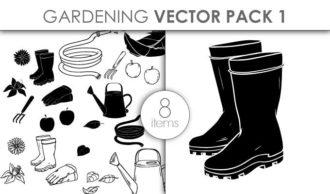 Vector Gardening Pack 1 Vector packs vector