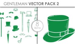 Vector Gentleman Apparel Pack 2 Vector packs vector