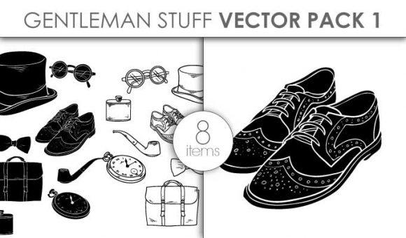 Vector Gentleman Stuff Pack 1 designious vector gentleman stuff pack 1 small preview