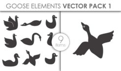 Vector Goose Pack 1 Vector packs vector