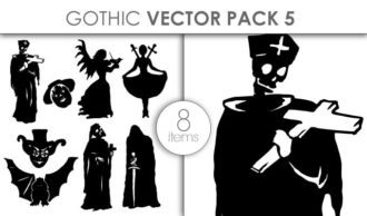 Vector Gothic Pack 5 Vector packs vector