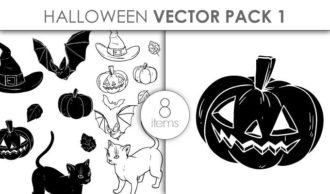 Vector Halloween Pack 1 Vector packs vector