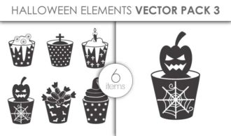 Vector Halloween Pack 3 Vector packs vector