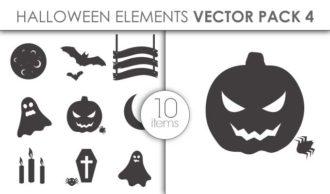 Vector Halloween Pack 4 Vector packs vector