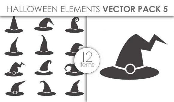 Vector Halloween Pack 5 Vector packs vector